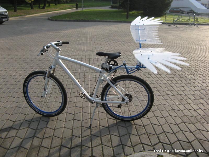 Как сделать крылья для велосипеда своими руками 52