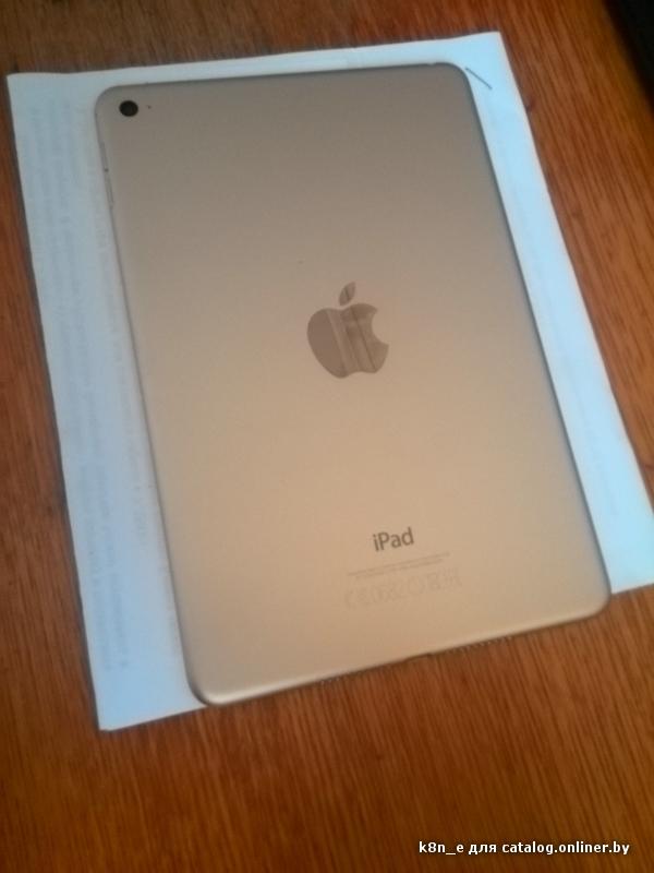 Отзывы Apple iPad mini 4 128GB Gold