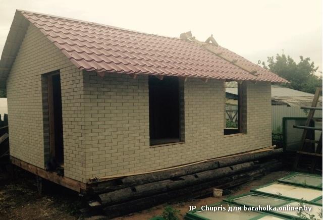 дом из лего кирпича