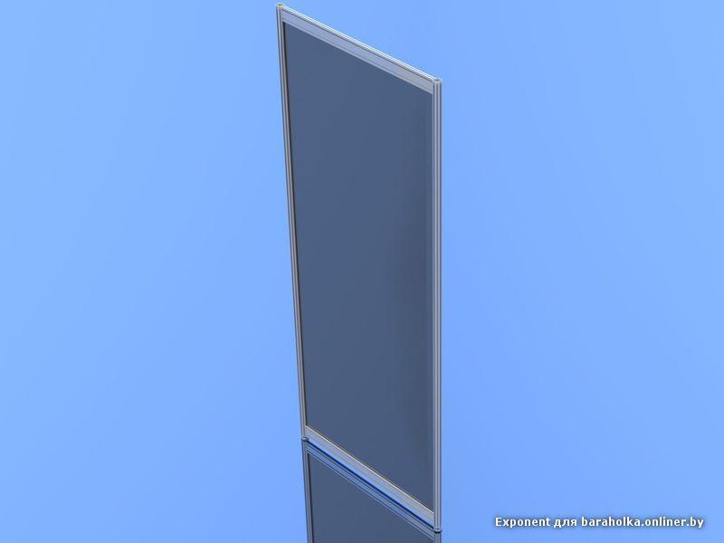 Стеновой блок 1000х2500 мм (панель, стойка, 2 ригеля, тонированное стекло).jpg