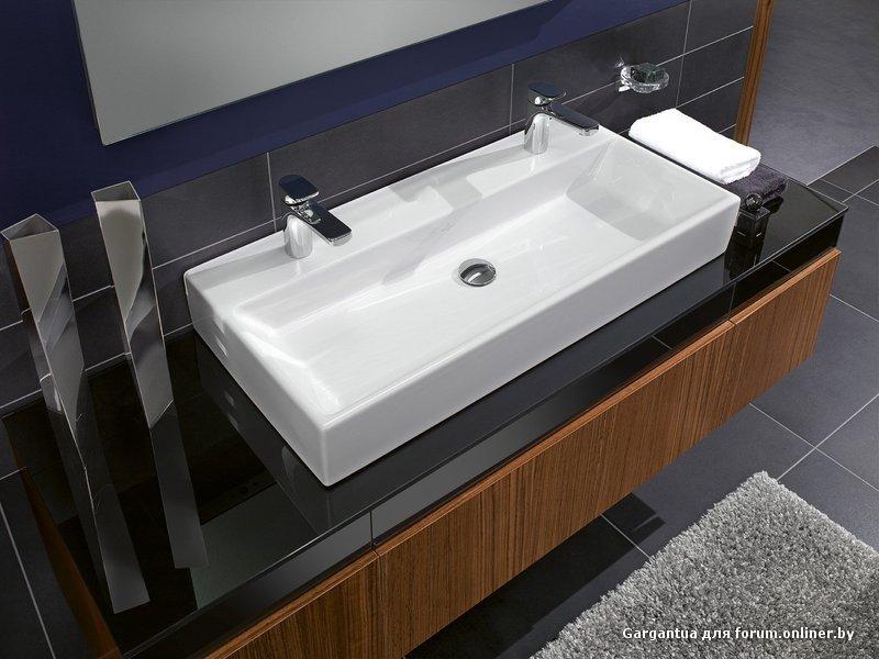 Large bathroom sinks