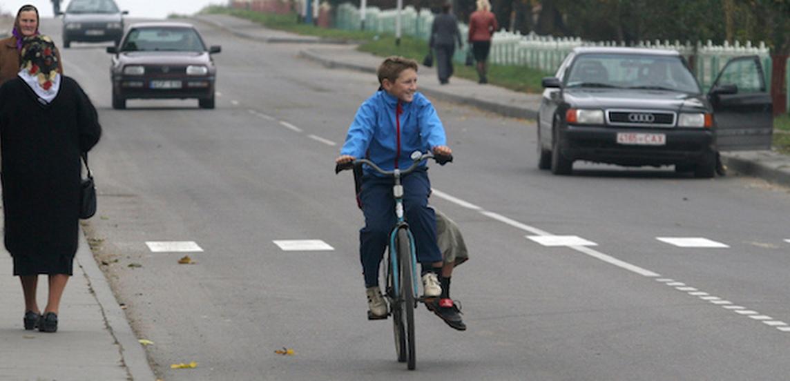 Велосипедисты сетуют на агрессивных пешеходов