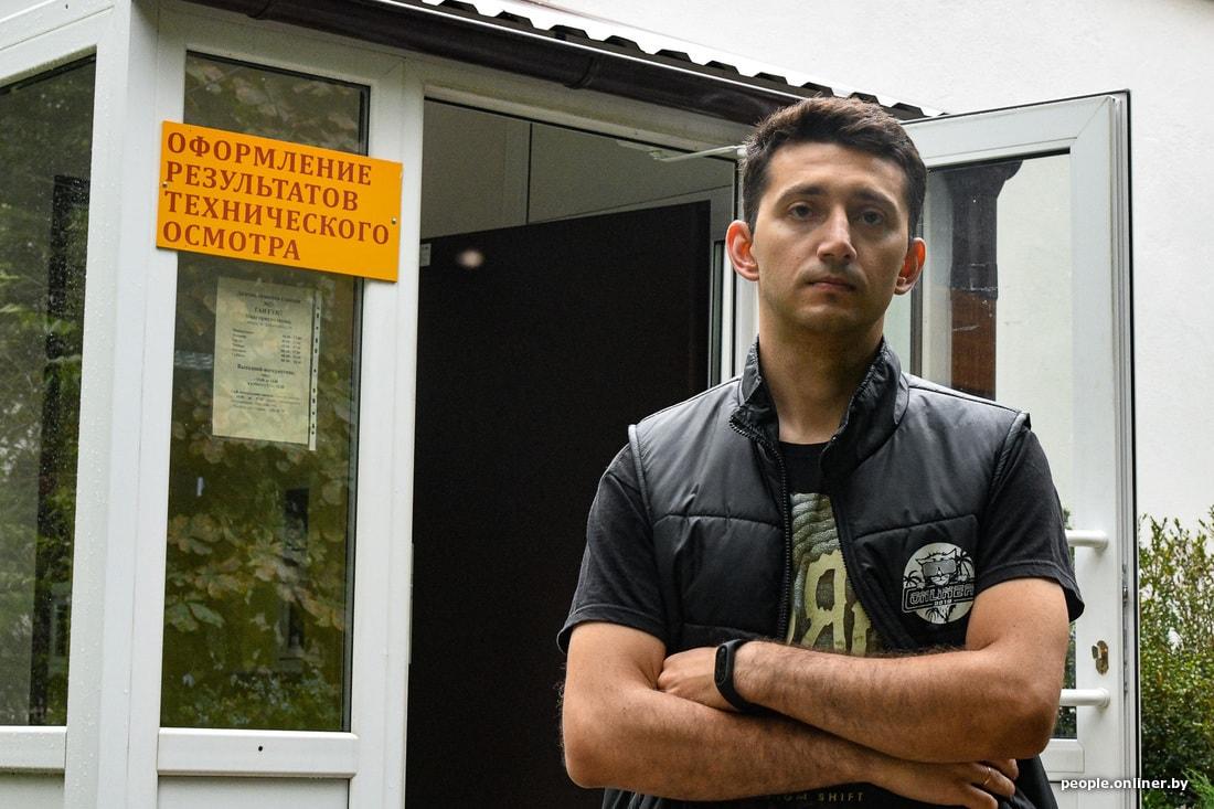 Журналист Onliner Андрей Гомыляев: почему я до сих пор не проходил техосмотр