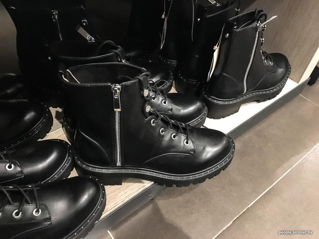 ea947b356 Модные ботинки в Лодзи хотят продать за 109 руб., а у нас за 108 (вот это  точно погрешность при пересчетах).