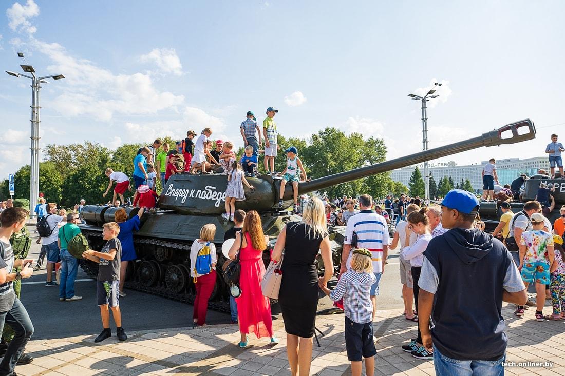 также, при день танкиста фото минск статус, как