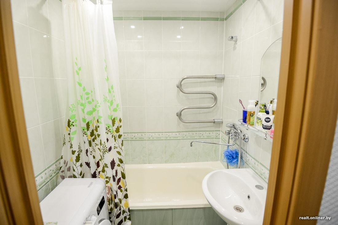 Натяжной потолок в Минске в ванной