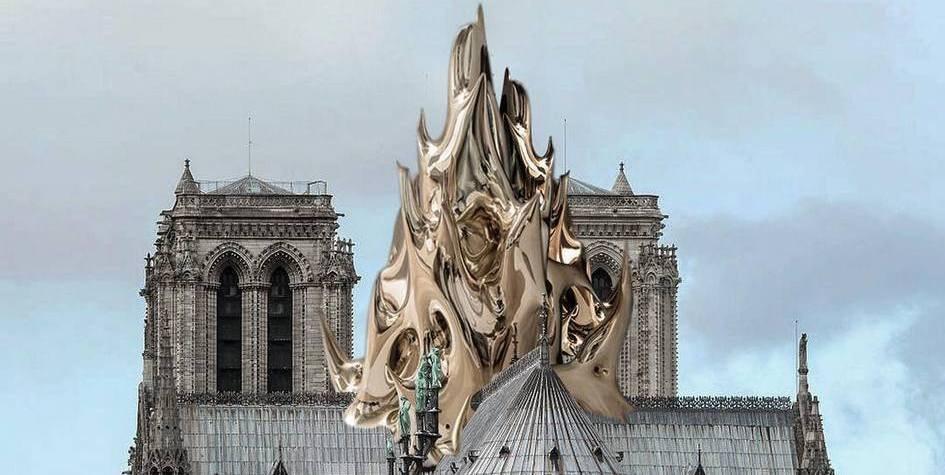 В Сети показали, как может выглядеть обновленный Нотр-Дам (ФОТО)