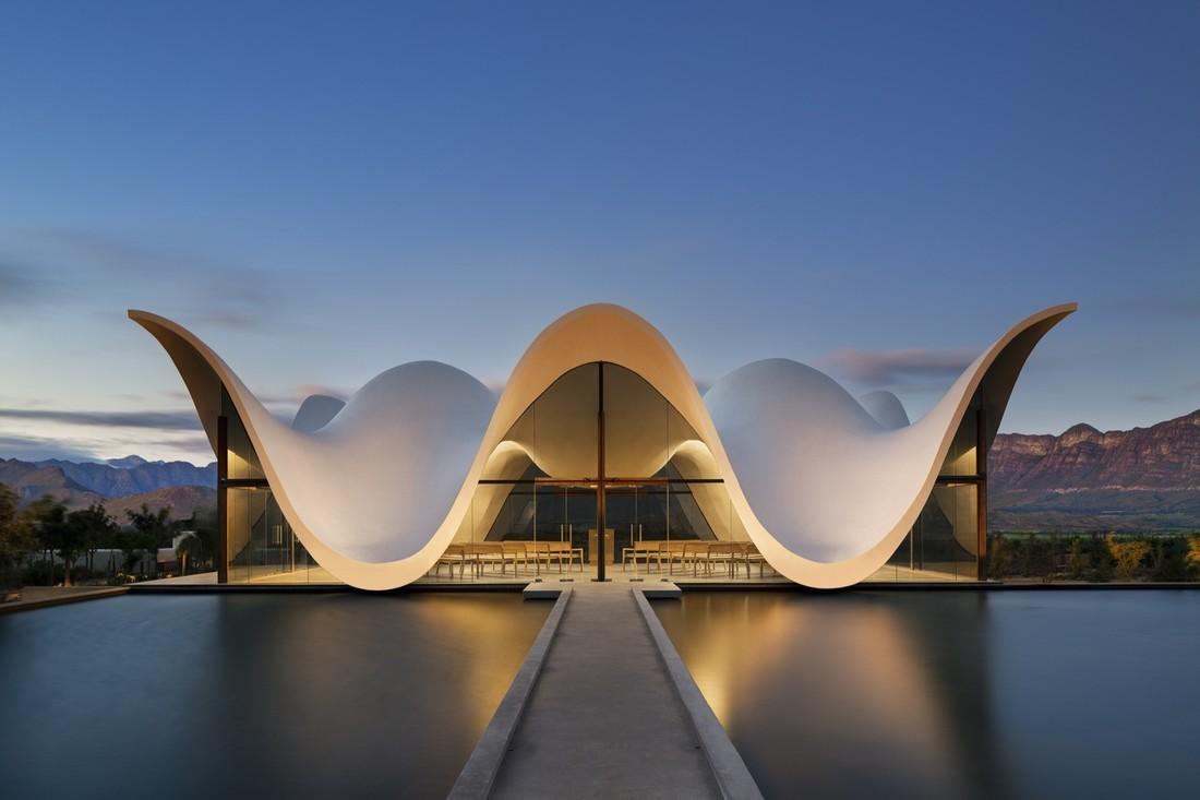 Потрясающие фото самых знаменитых зданий Мира | 733x1100