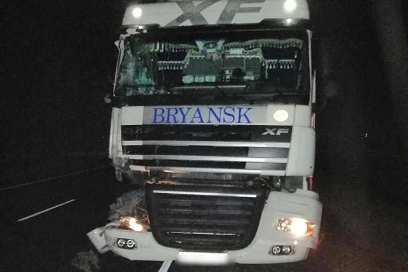 В Пинском районе столкнулись грузовики, понадобилась помощь спасателей