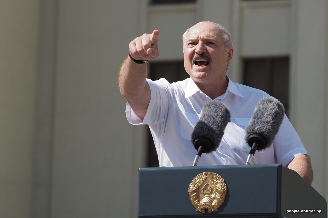 Лукашенко өз ыйгарым укуктарын өткөрүп берүүнүн шарттарын атады.
