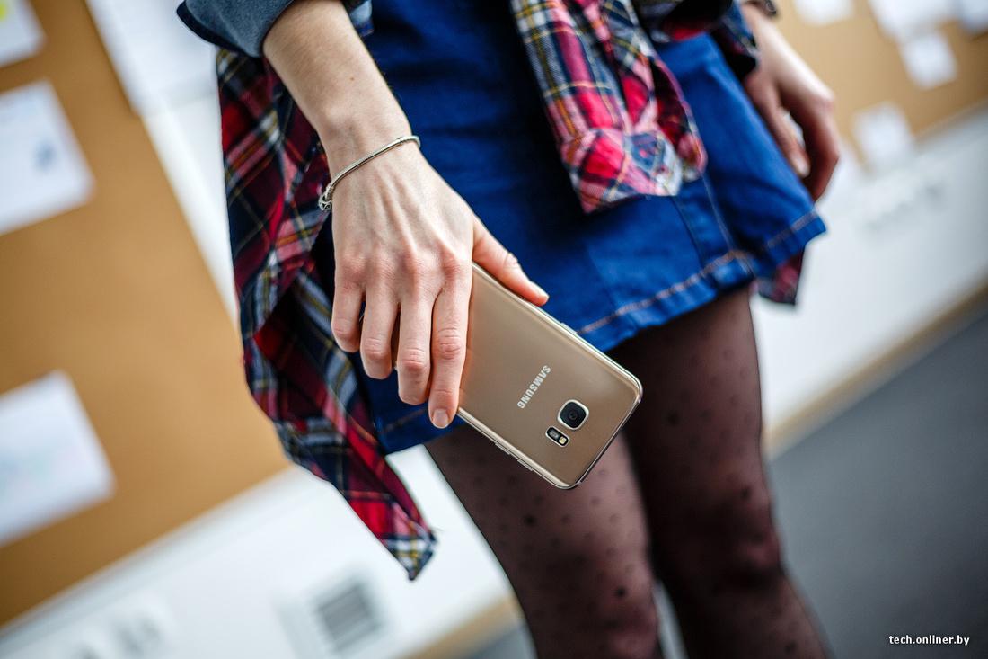 e411cff1d842 Смартфон Galaxy S7 edge хочется хвалить за все, начиная от дизайна и  заканчивая функциональностью. В Samsung наконец-то научились толково  использовать ...