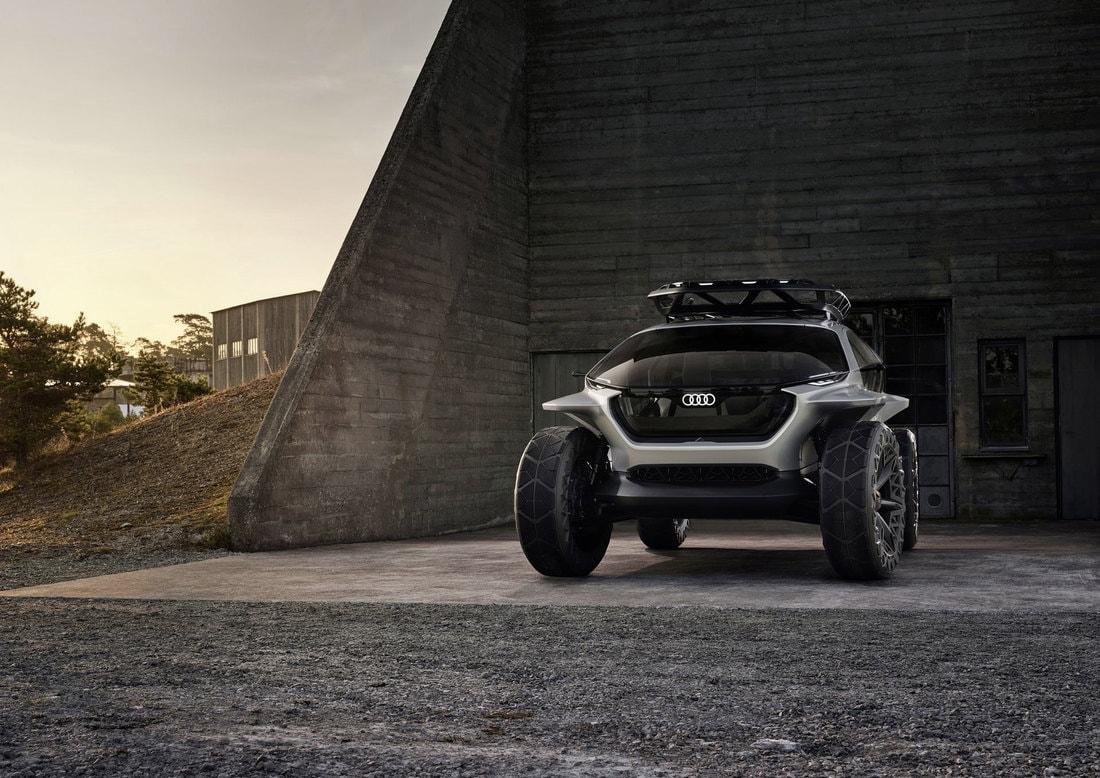 Audi построила электрический внедорожник с четырьмя моторами