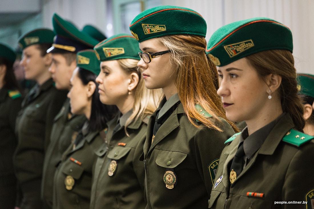 пограничники девушки работа