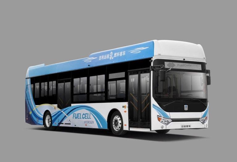 Geely выпустила два новых автобуса на экотопливе 1