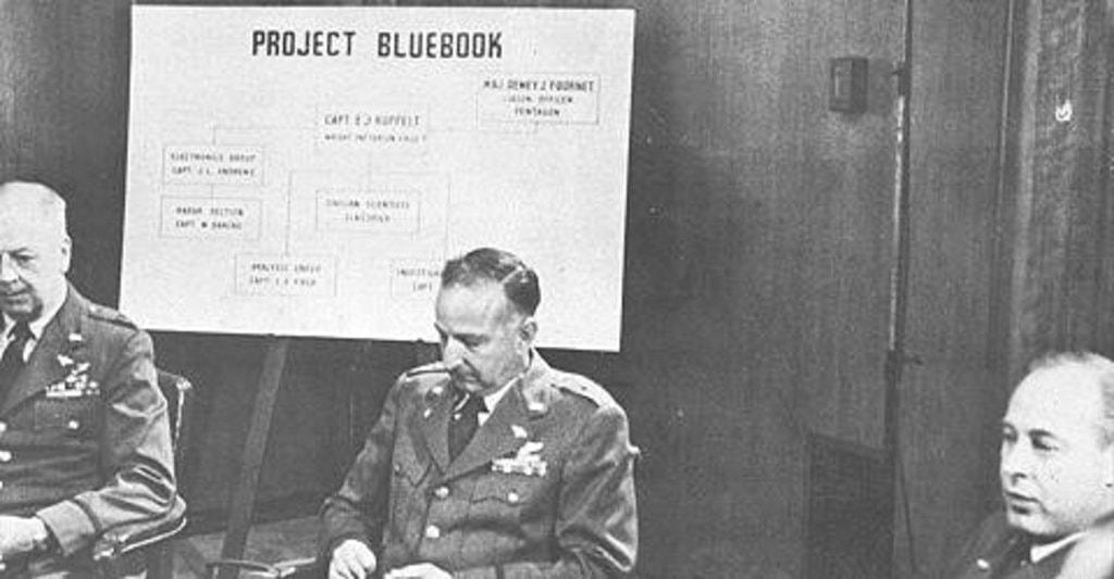 История программы «Синяя книга» по изучению НЛО в США. Проекты Sign, Grudge и Синяя (голубая) книга 6431c00b00ef87b18494e8425649f833