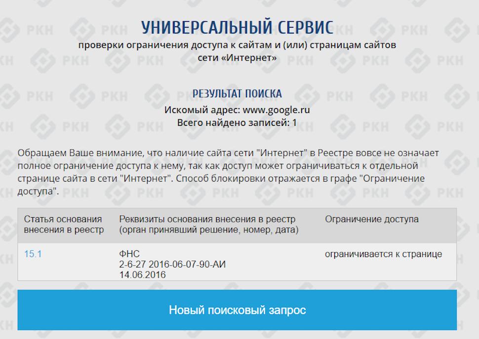Какие сайты заблркировпны в россии