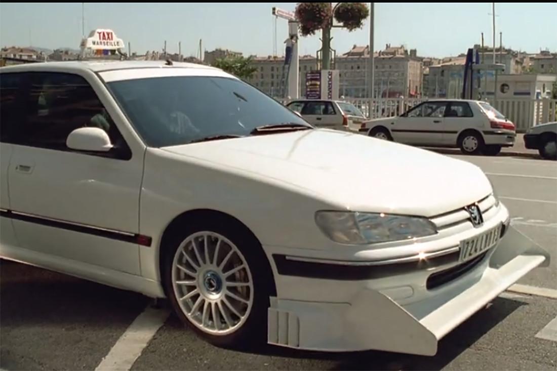 peugeot 406 такси марсель