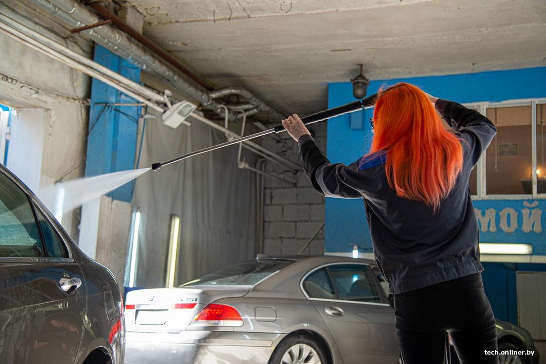 Работа на автомойке для девушки девушка модель форм работы педагогов доу с родителями в