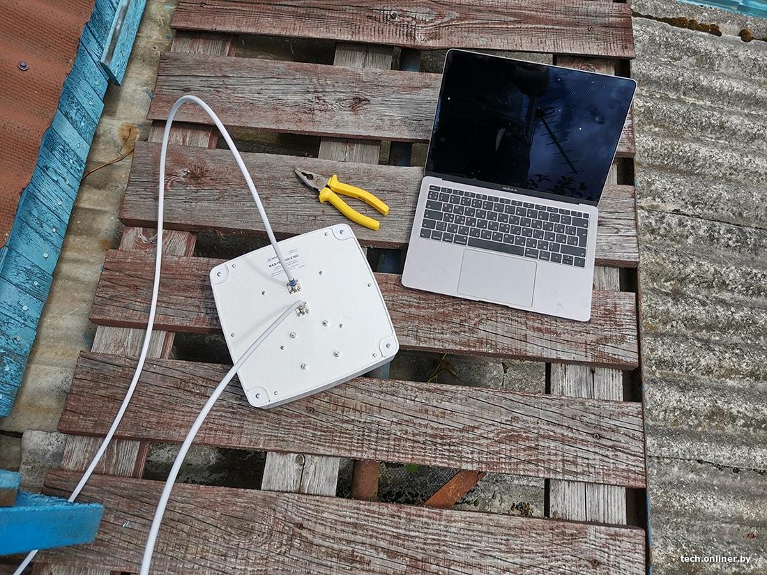 плохой мобильный интернет на даче