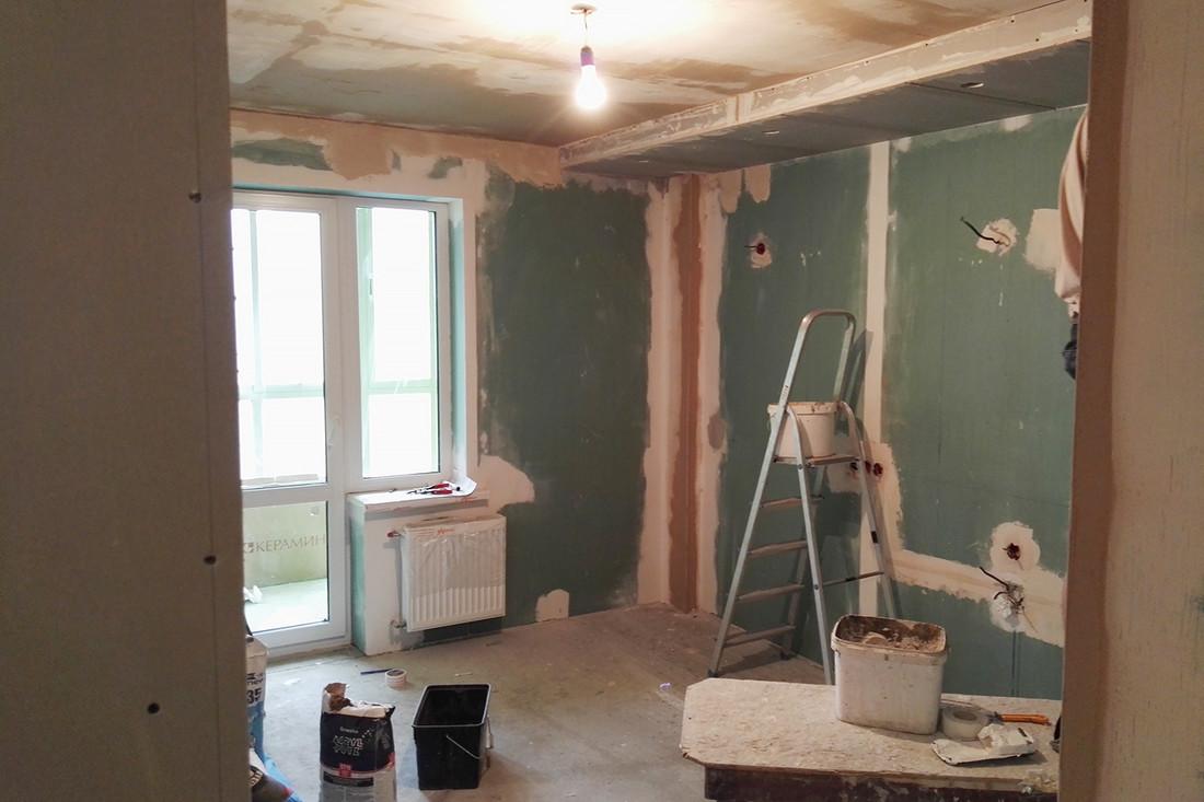 Как мы сделали ремонт квартиры своими руками фото 689