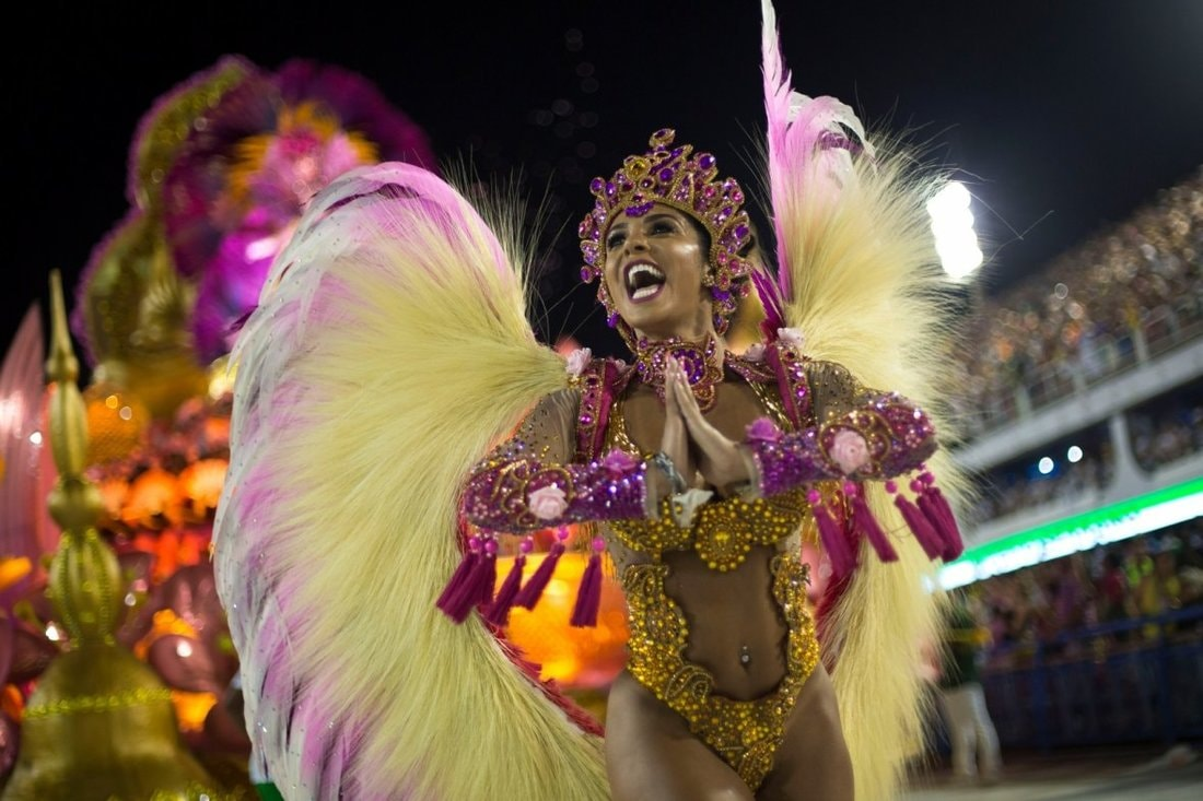 Фото высокого качества бразильский карнавал