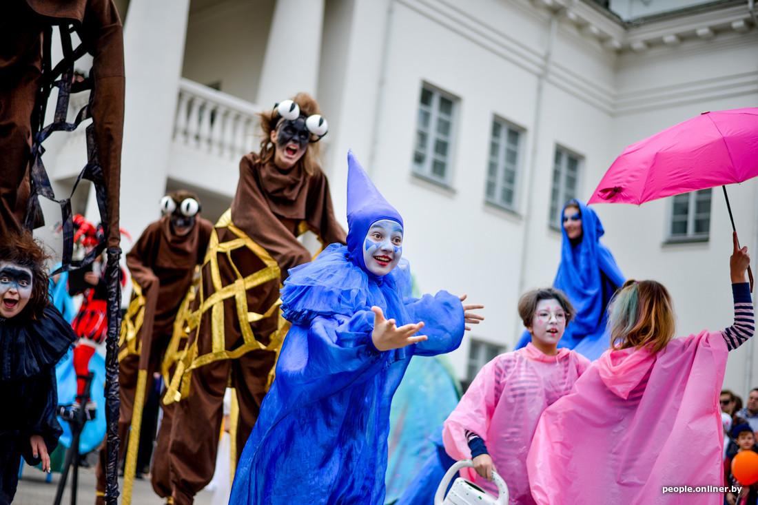 Festival international des théâtres de la rue à Minsk Bélarus