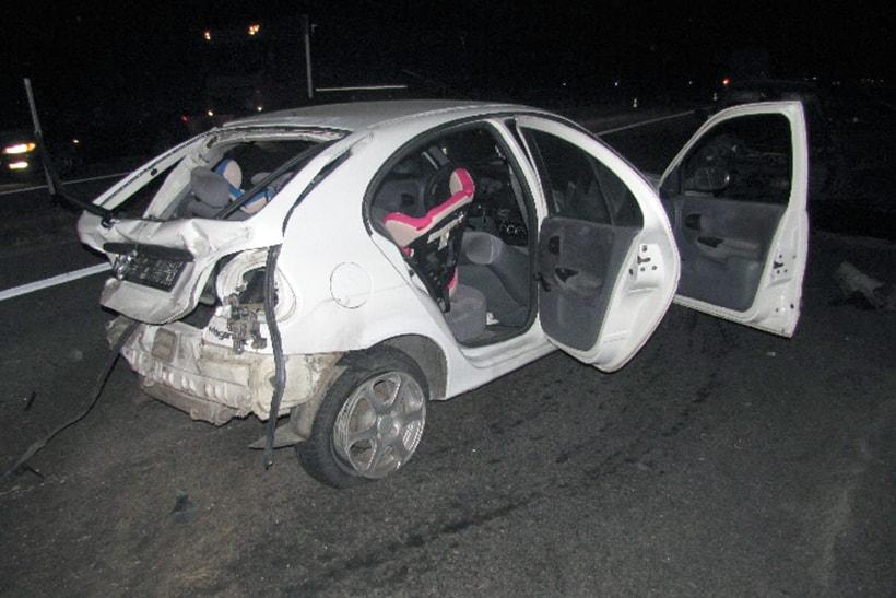 Пьяный водитель на скорости 100 км/ч врезался в авто, в котором находились трое детей. Дело направлено в суд