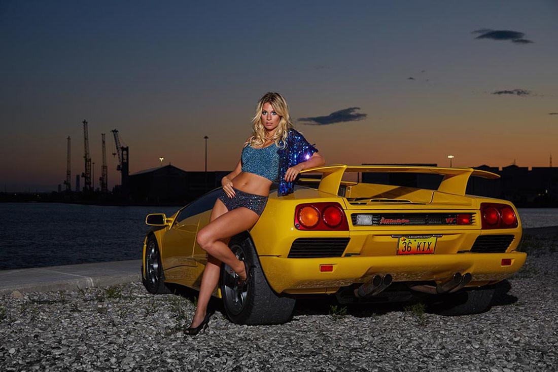 Тюнинг авто с секс телками