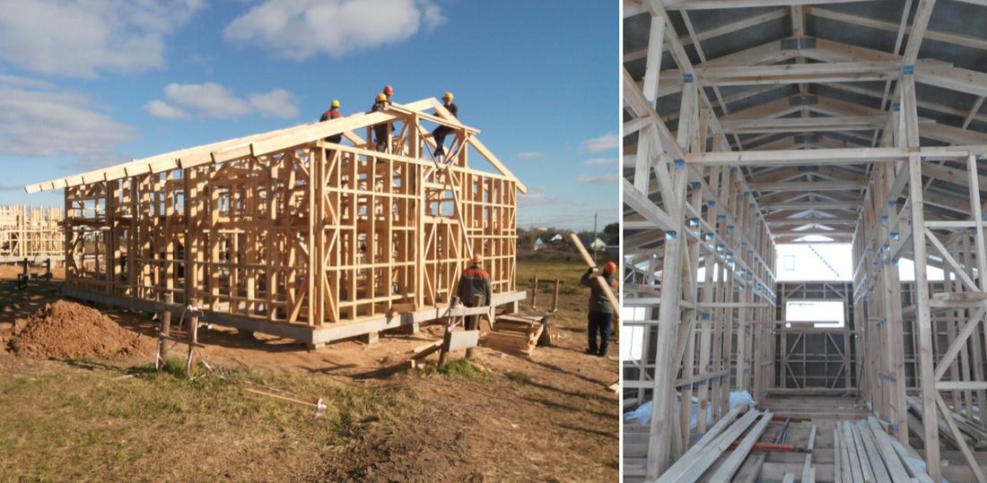 построить недорогой каркасный дом чем завершился эксперимент