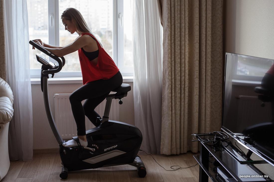 Похудеть с помощью велотренажера дома