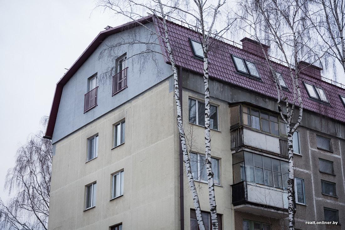 любят мансардный этаж многоквартирного жилого дома фото очищать