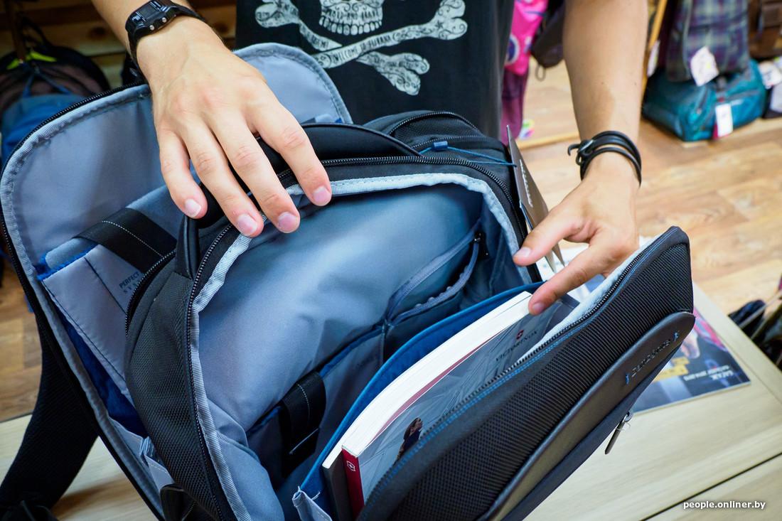 В магазин не пускают с рюкзаком купить велорюкзак universal velo 50