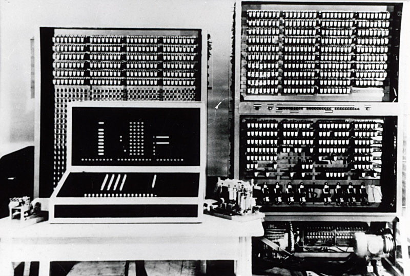 an introduction to the first computers and the way the used components called vacuum tubes The first digital computer was called the abc computer developed by atanasoff and berry in 1942 but it was  had over 300 vacuum tubes, and contained a mile of wire  the first computer ever.