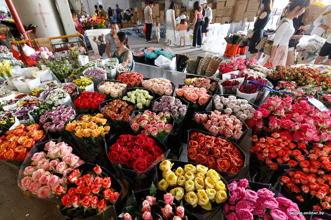 Цветочные краснодарские рынки фото