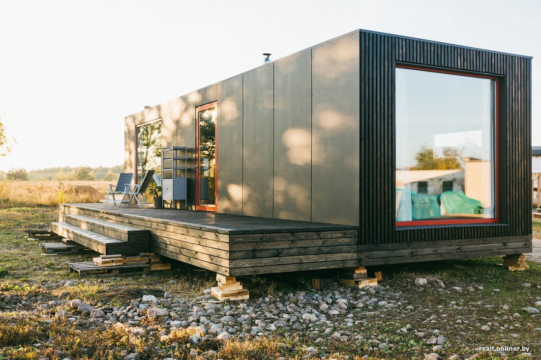 В Беларуси построили мобильный микродом, где можно жить круглый год 3
