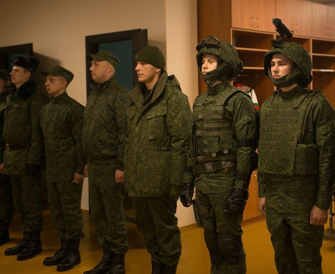 Новый облик белорусской армии