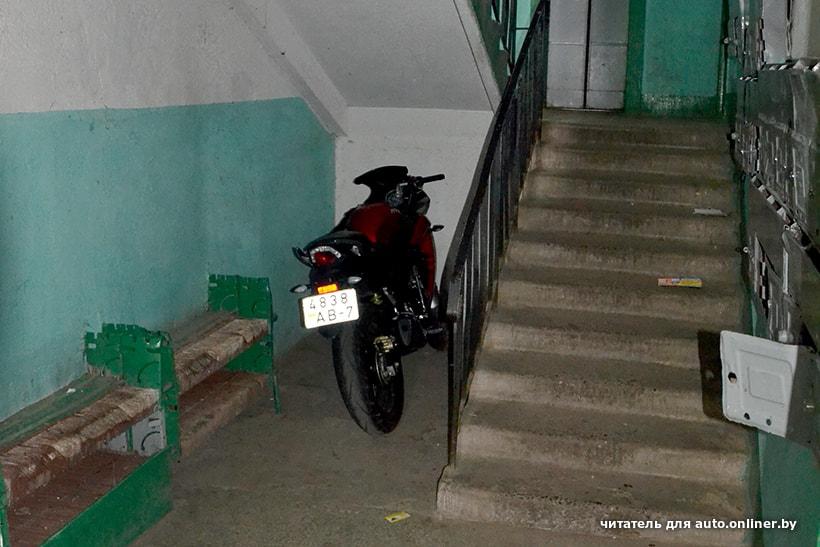 кто из мотоциклистов занял правильное положение