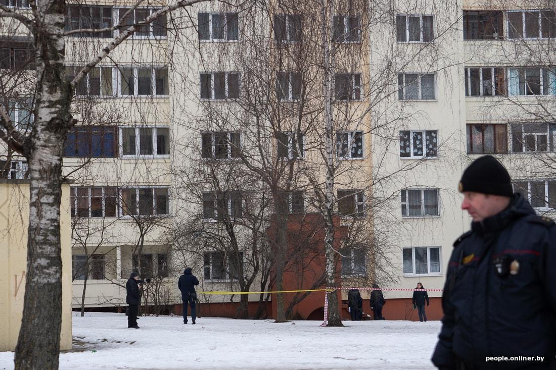 В Минске обнаружен труп младенца с удавкой на шее. Видео задержания