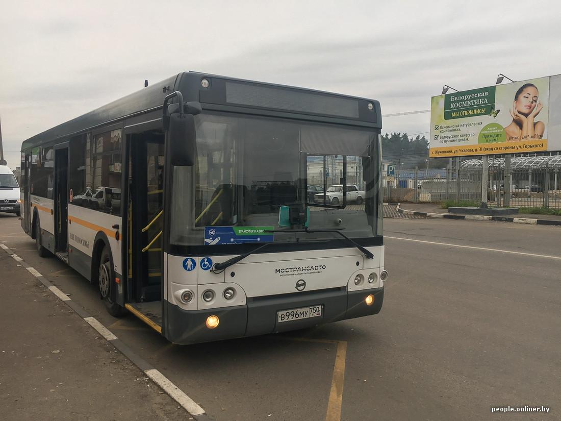 схема подъезда к аэропорту минск-2 автобуса №300э