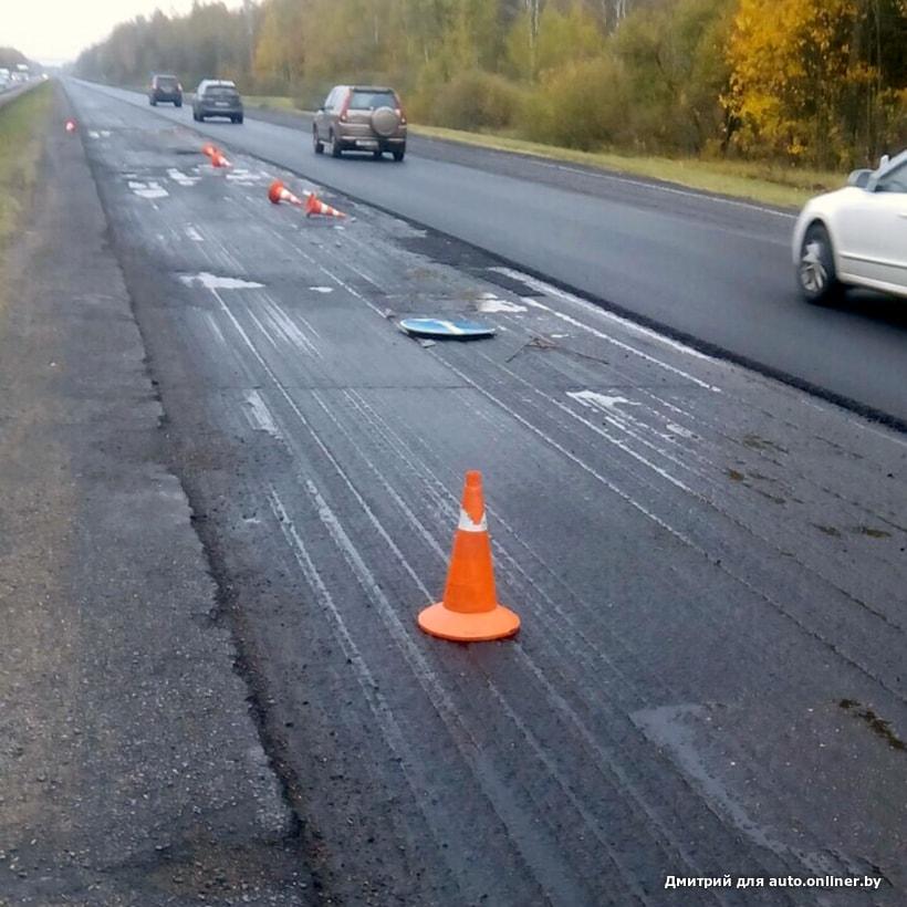 «Для чего мы платим за дороги, если от этих дорог такой ущерб?» Грузоперевозчик о ситуации на М1