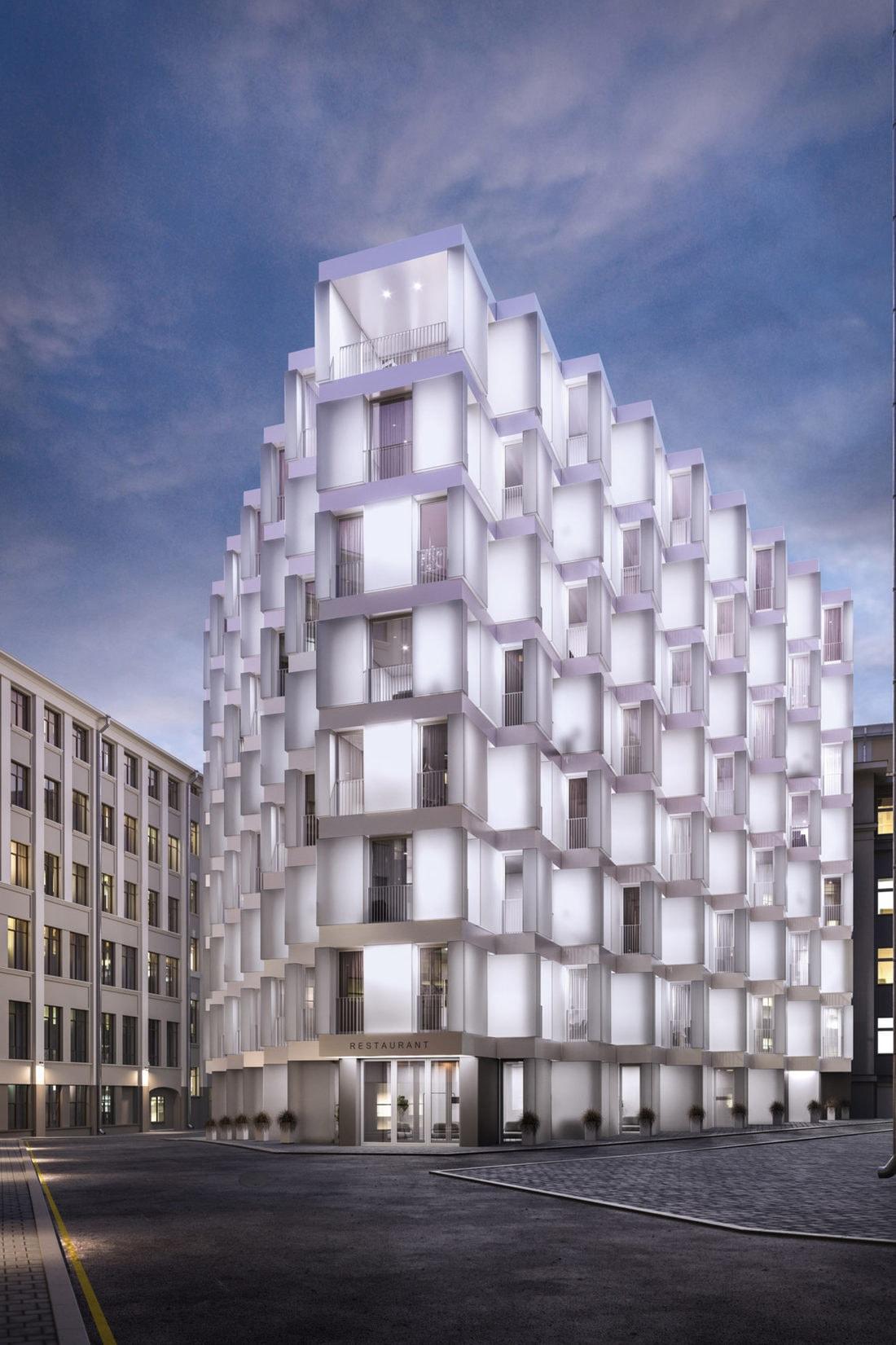 Здания из бетона в москве добавки для бетона купить в челябинске