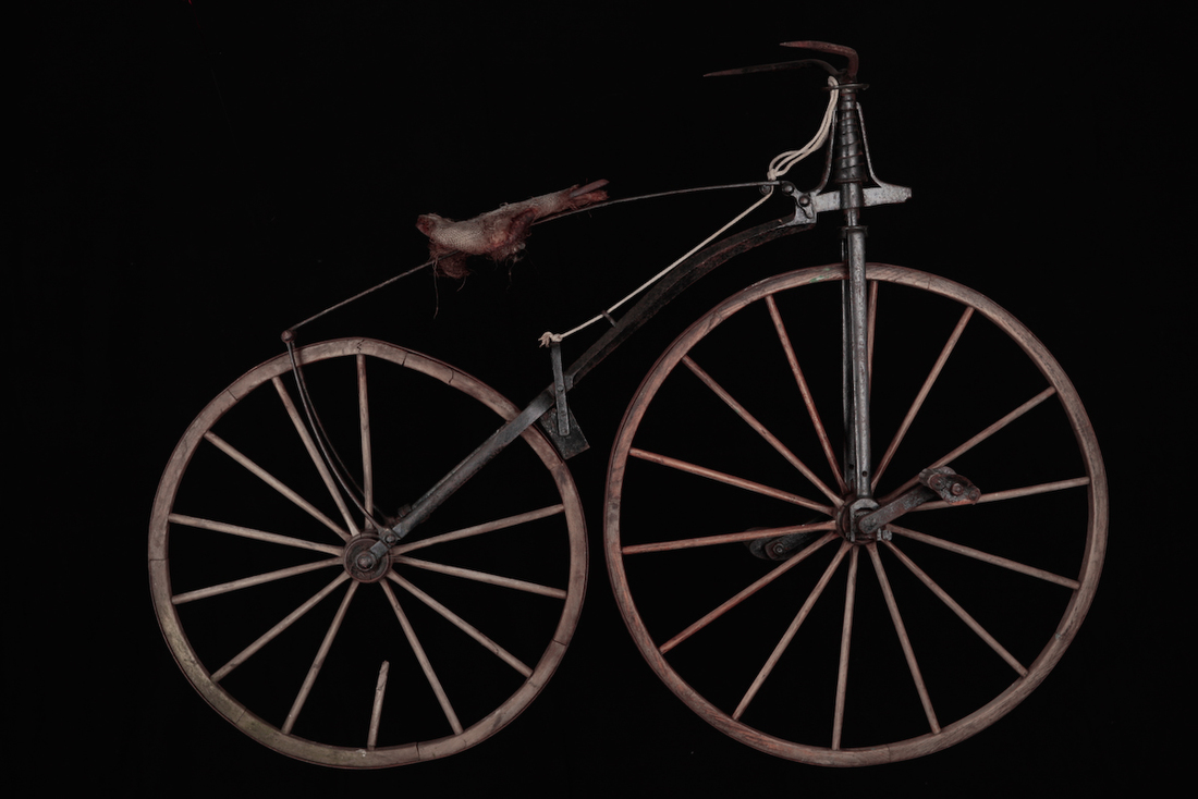 the bicycle 300 years compressed to a 1 min animation telling the interesting history of the bicycle, all the way from the wooden horse to the modern racer the video was.
