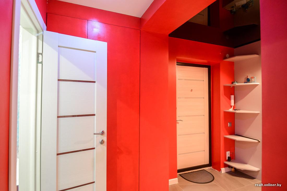 яркие коридор красный фото пижамную