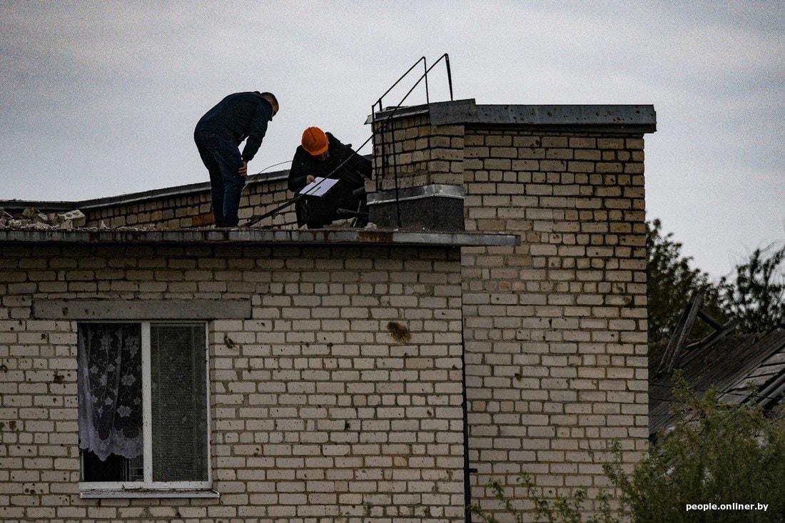 Что вчера происходило на месте трагедии в Барановичах