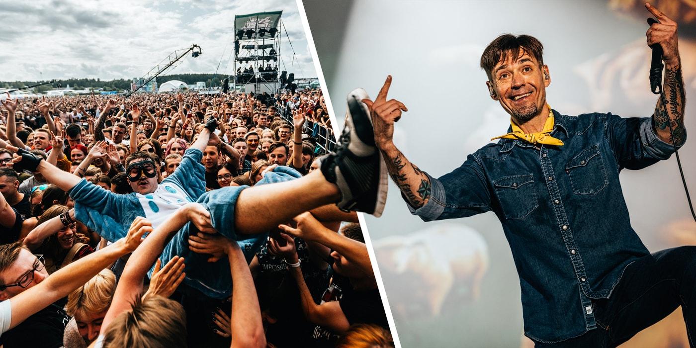 Баста, «Ляпис-98» и «Петля пристрастия» дали жару на фестивале «Рок за Бобров». Смотрите, как это было