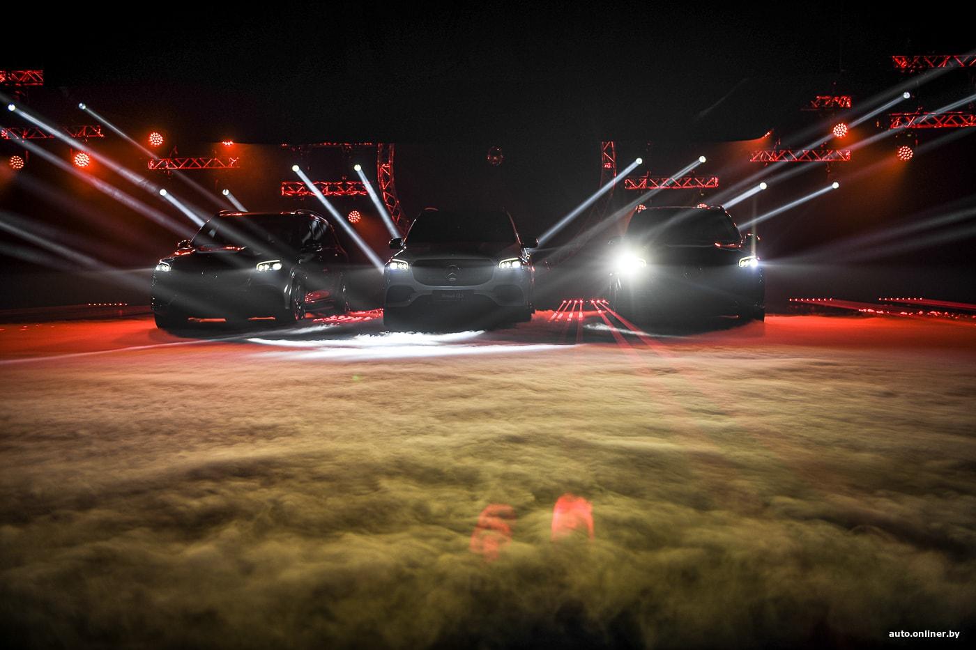 В Минске дебютировал роскошный кроссовер Mercedes GLS нового поколения