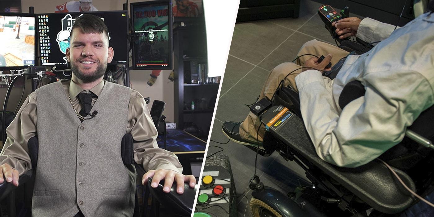 Mortal Kombat на слух и рекорды Fortnite без рук. Как играют и побеждают киберспортсмены с инвалидностью(спецпроект)