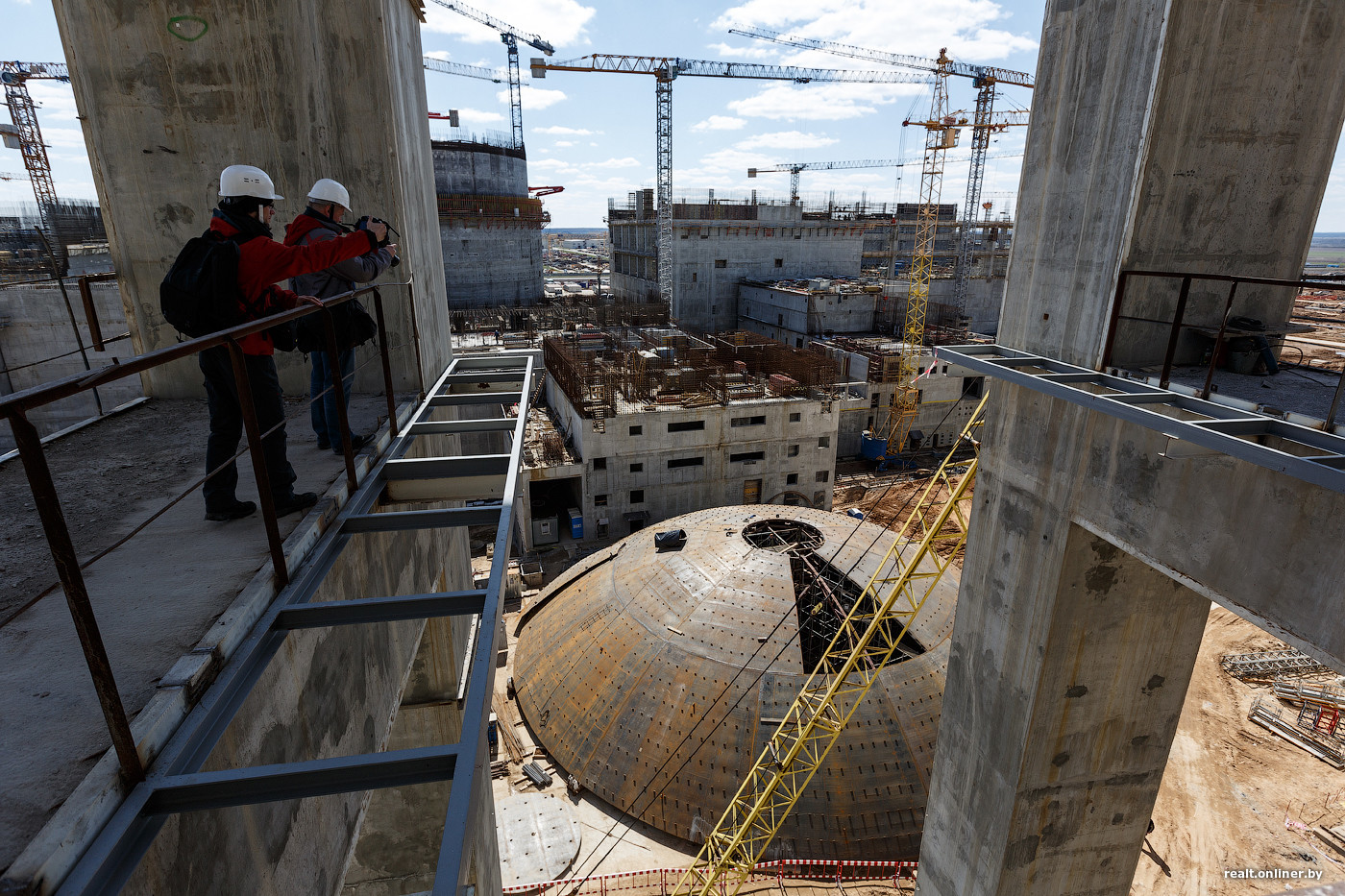Репортаж со стройки Белорусской АЭС