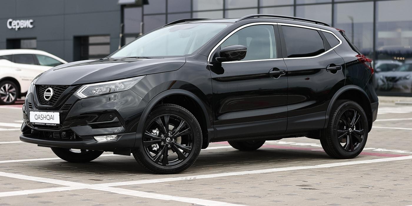 В Беларуси стартовали продажи новых Nissan Qashqai и X-Trail в исполнении N-Design