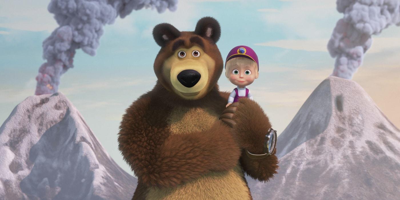 Рекорд Гиннесса, выборы в Сербии и девочка в парандже. Как мультсериал «Маша и Медведь» покорил весь мир(спецпроект)